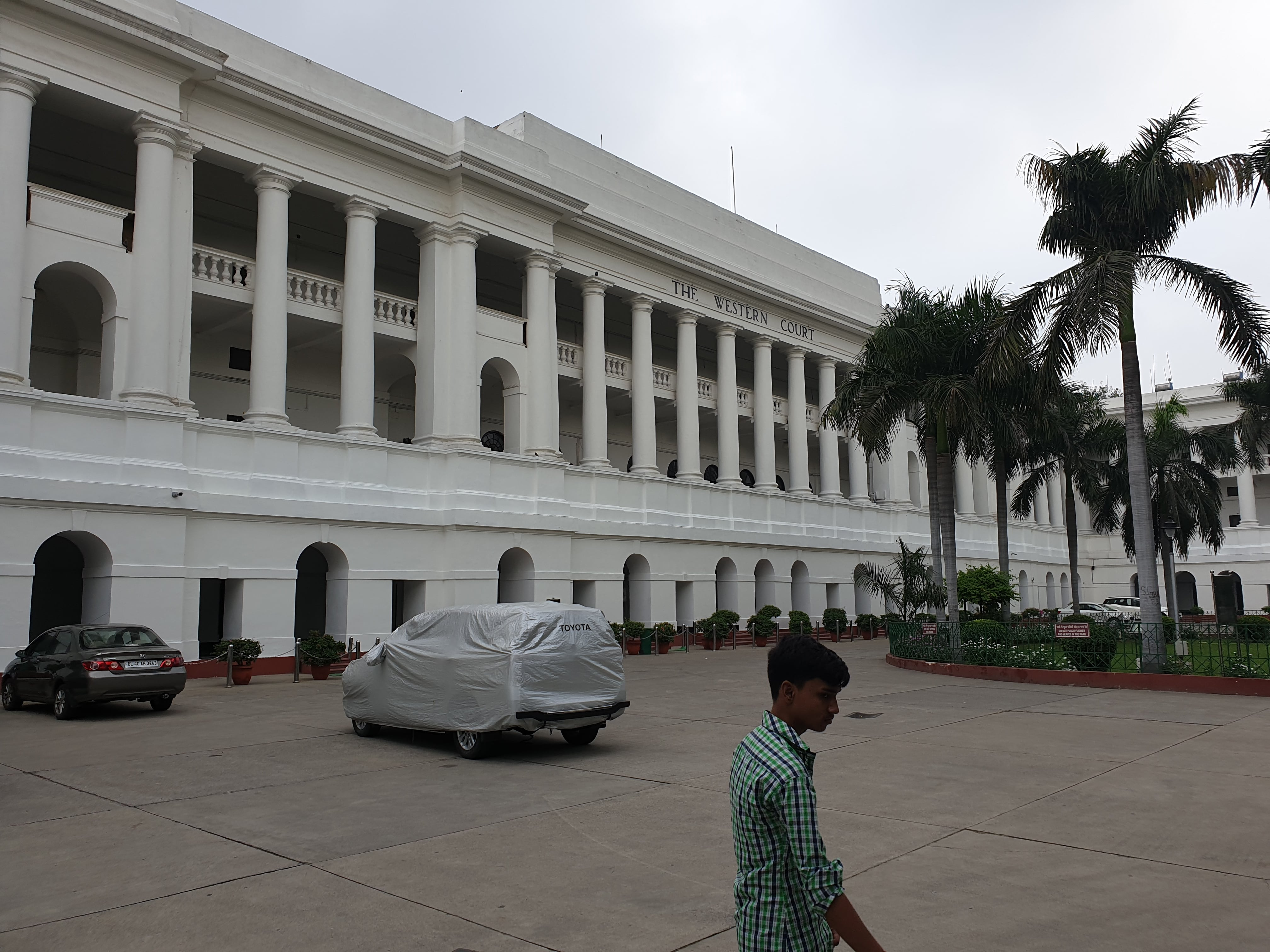 The Western Court, New Delhi, India:Historical, Political