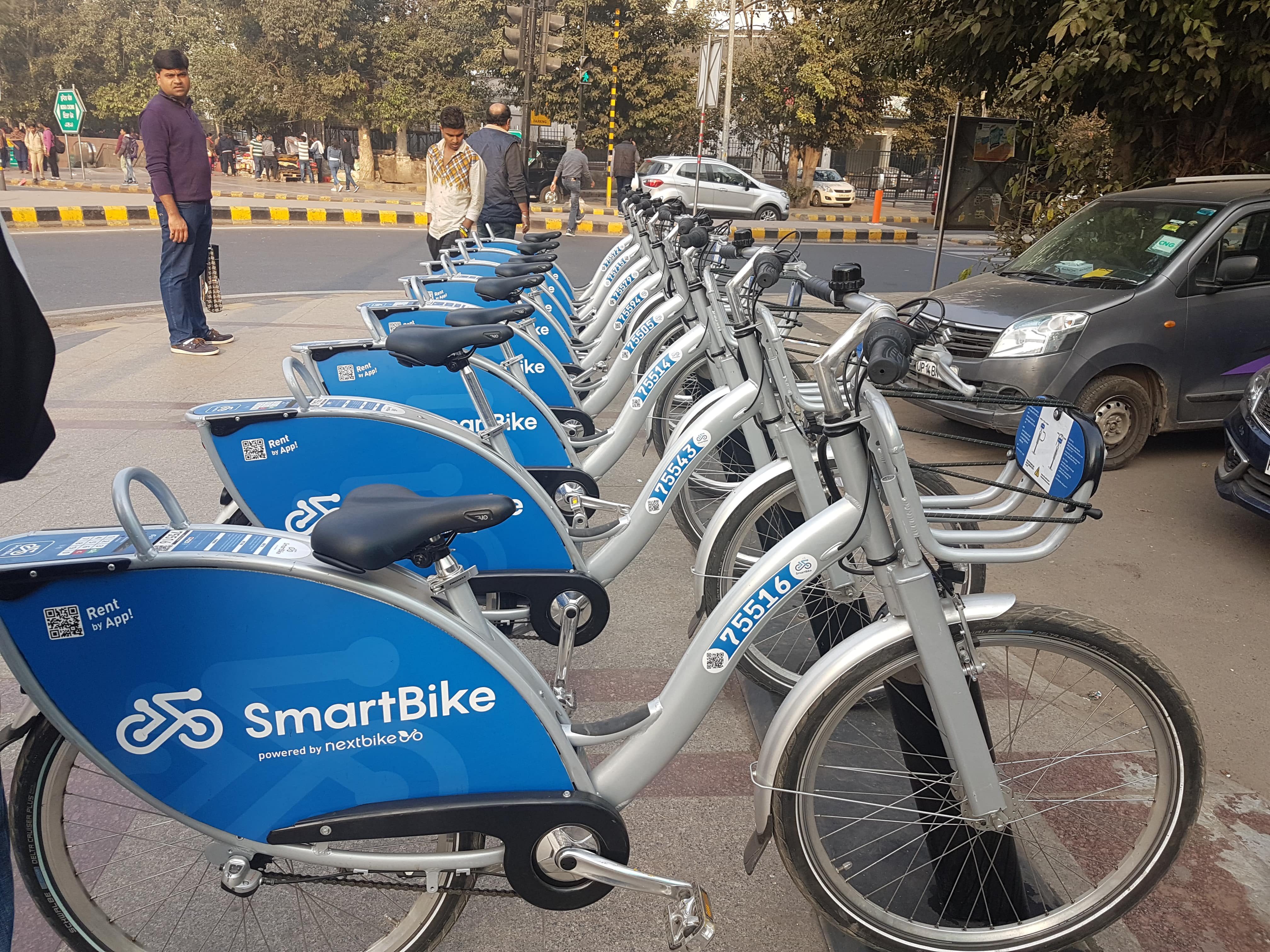 Cycling in New Delhi: Rent a Bike (Bicycle), Ride