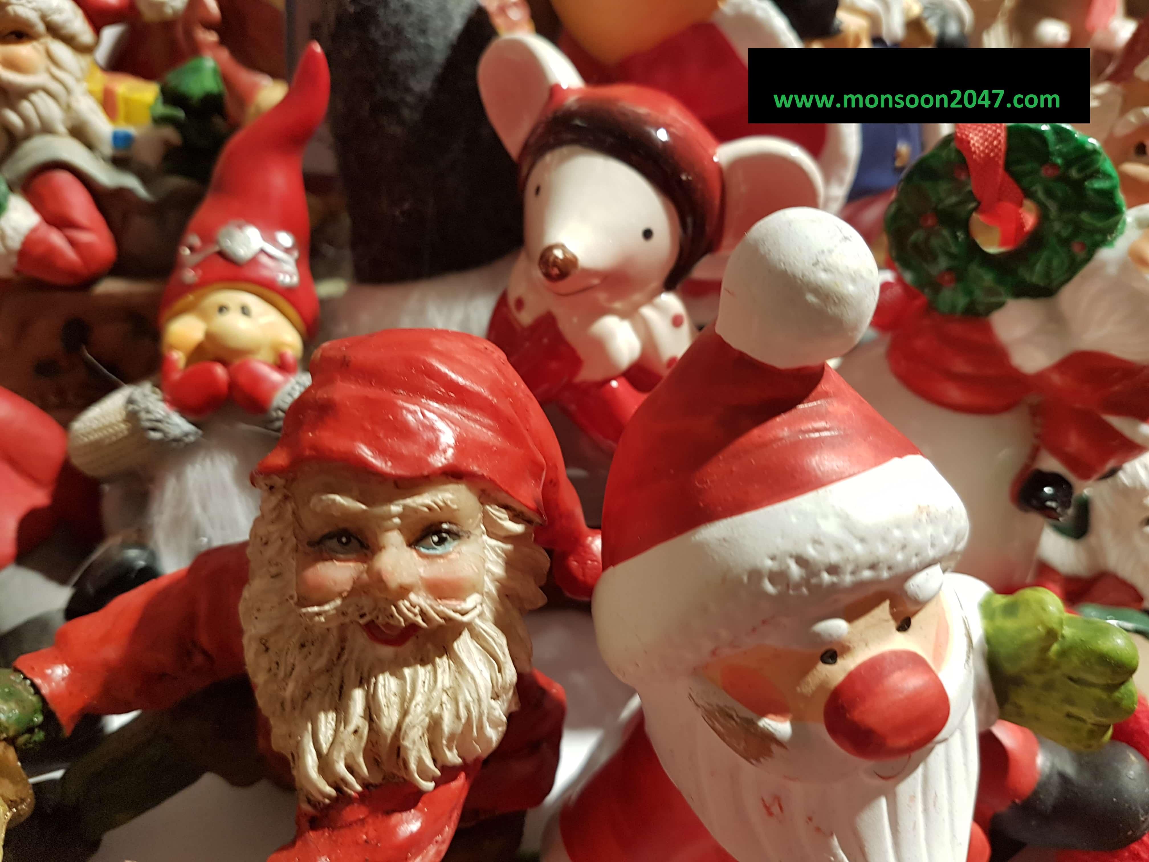 Santa Claus: Sharing Joys, Giving Gifts, Ushering Christmas Spirit