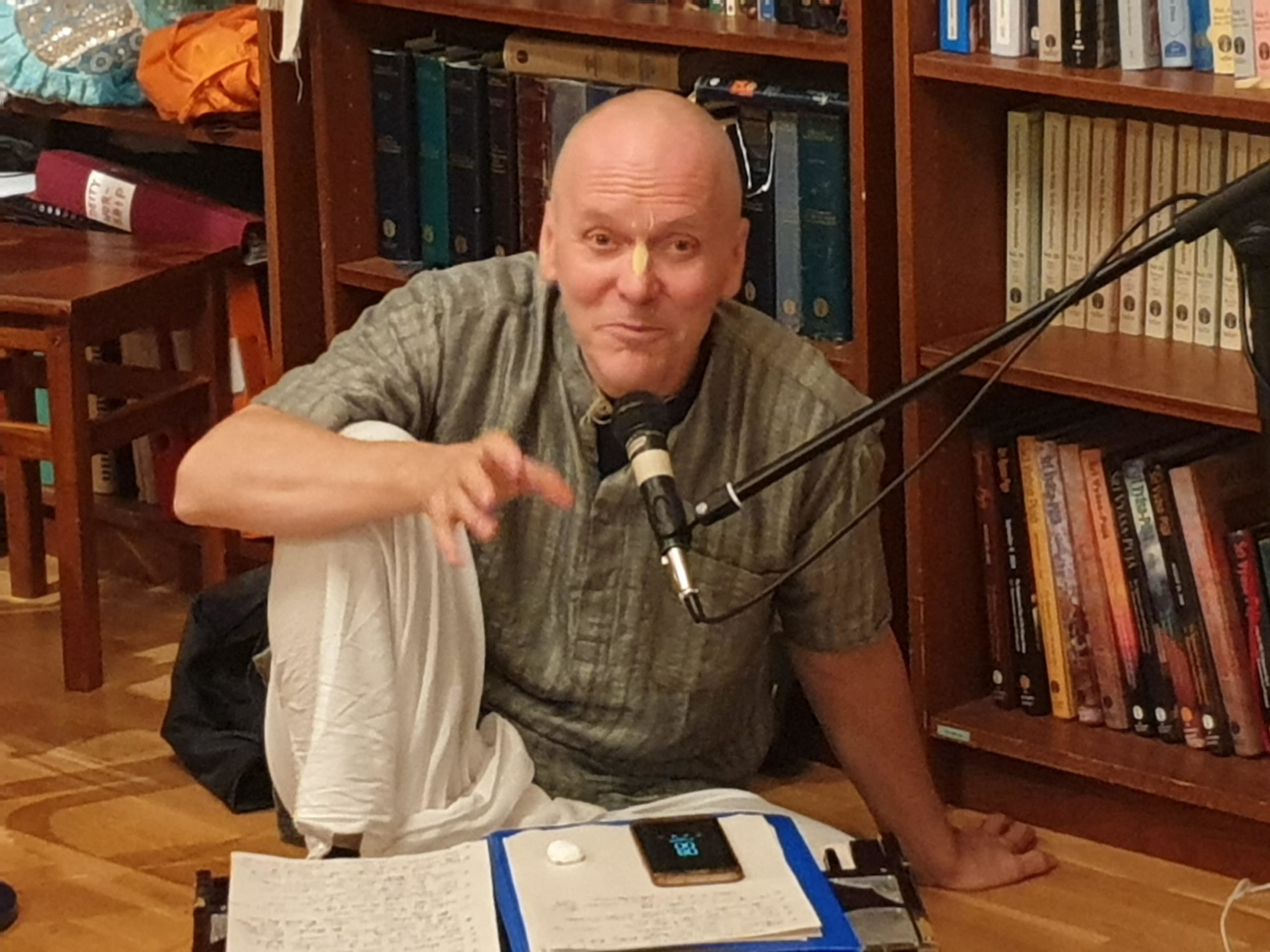 Tapas Das: On Discovering Bhagavad Gita, Dealing Positively with Existential Crisis, and 'Coming Home'