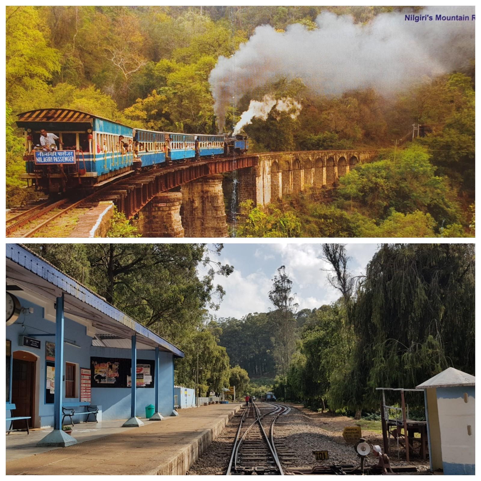 Ooty, the Nilgiris District: Nilgiri Mountain Railway
