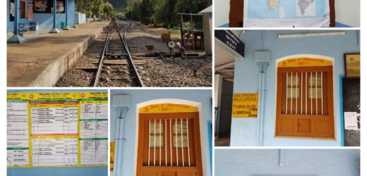 Ooty, the Nilgiris District: Lovedale Railway Station, Nilgiri Mountain Railway