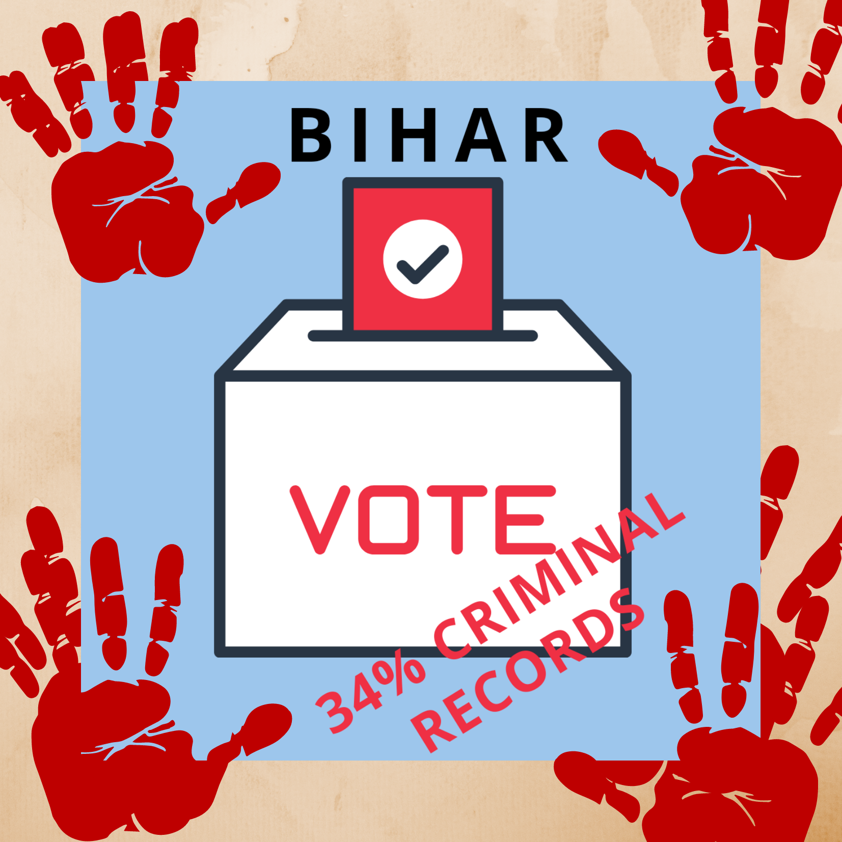34% WITH CRIMINAL RECORDS IN BIHAR POLL, PARTIES MOCK AT SC ORDER